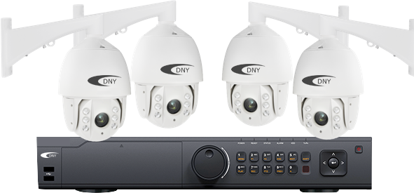 business-security-cameras-installation-with-logo